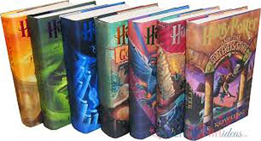 harry potter book art