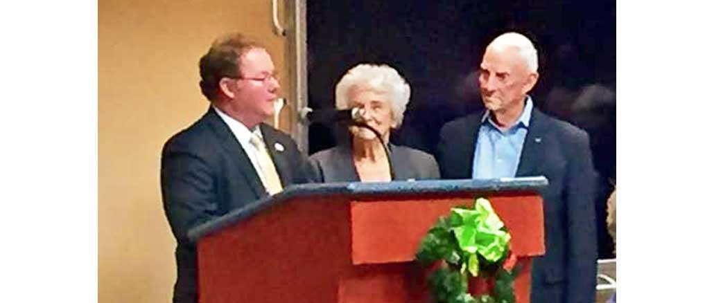 Northeast MS news former POW Harris receives Key to City
