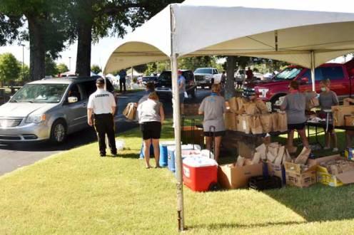 NEMiss.news Baptist Hospital Drive through Fair