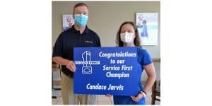NEMiss.news Candace Jarvis Service First award