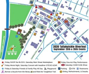 NEMiss.news Riverfest 2020 map clickable