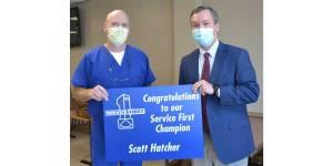 Scott Hatcher Service First Award NEMiss.News