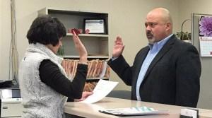 NEMiss.News David Rainey takes oath