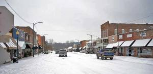 Snow & ice in New Albany NEMiss.News