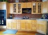 Kitchen- (Maple cabinets & floor)