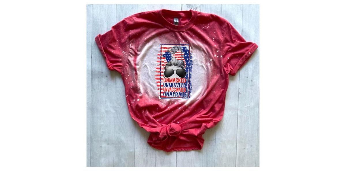 NEMiss.News Unmasked, Unvaccinated T-Shirt