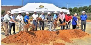 NEMiss.News BNA groundbreaking, Tupelo MS