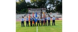 NEMiss.News Air Force JROTC at Bulldogs game