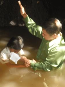 hinandayan-baptism