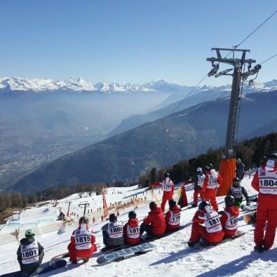 #swisssnowhappening2017 #swisssnowsports #swisssnowhappeningnendaz #ssh #ssh17 #nendaz #autop #bigair #boardercross #slopestyle #2emeplace #frisek #esscransmontana