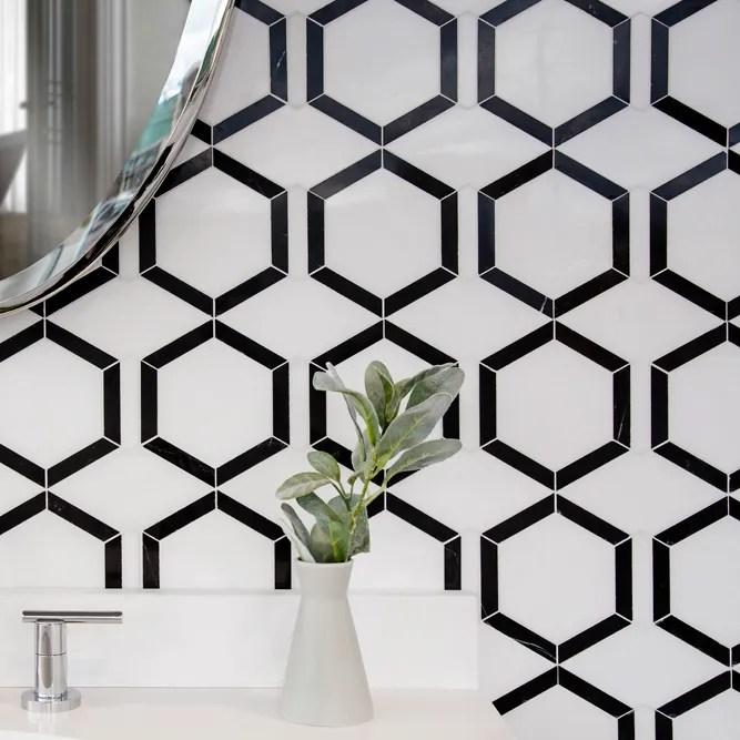 black and white mosaics new