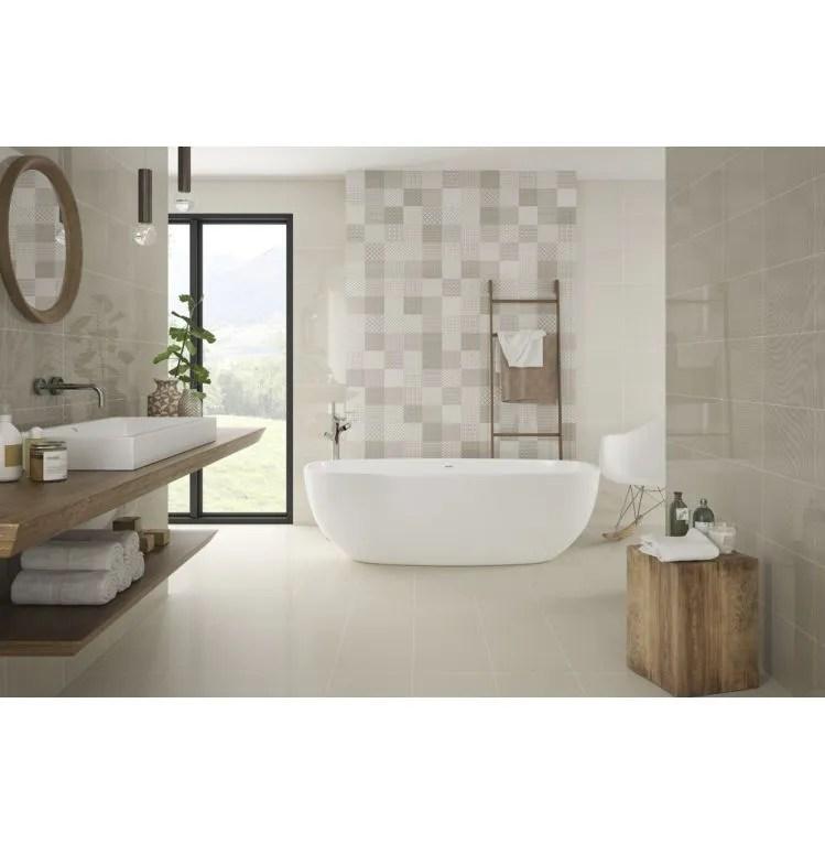 elevate taupe floor tile 12x24