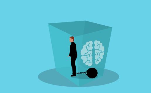Mentalno zdravlje-um-okovi-čovek