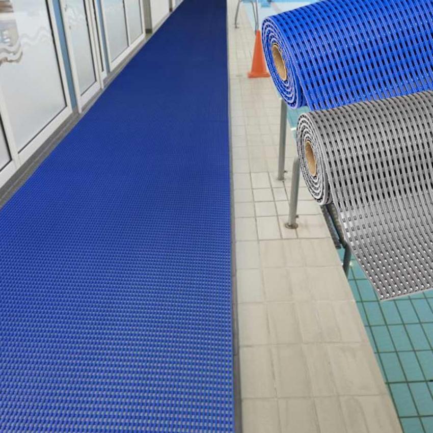 tapis de sol piscine pvc antiderapant caillebotis hygieniques neosol
