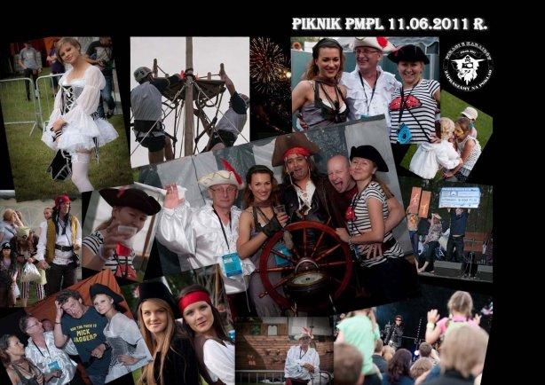 """Rodzinny piknik firmowy o tematyce """"PIRACI Z KARAIBÓW"""" dla firmy Philip Morris Polska S.A. -  11.06.2011r. - stadion PMPL KRAKÓW"""