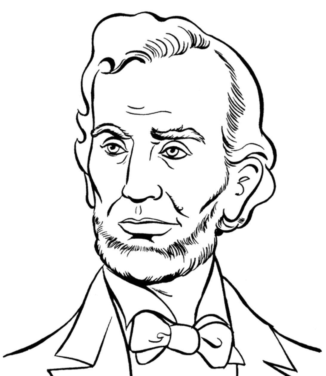 Abraham Lincoln Presidents Day Coloring Pages Neo Coloring