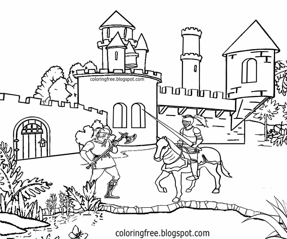 Coloring Castle