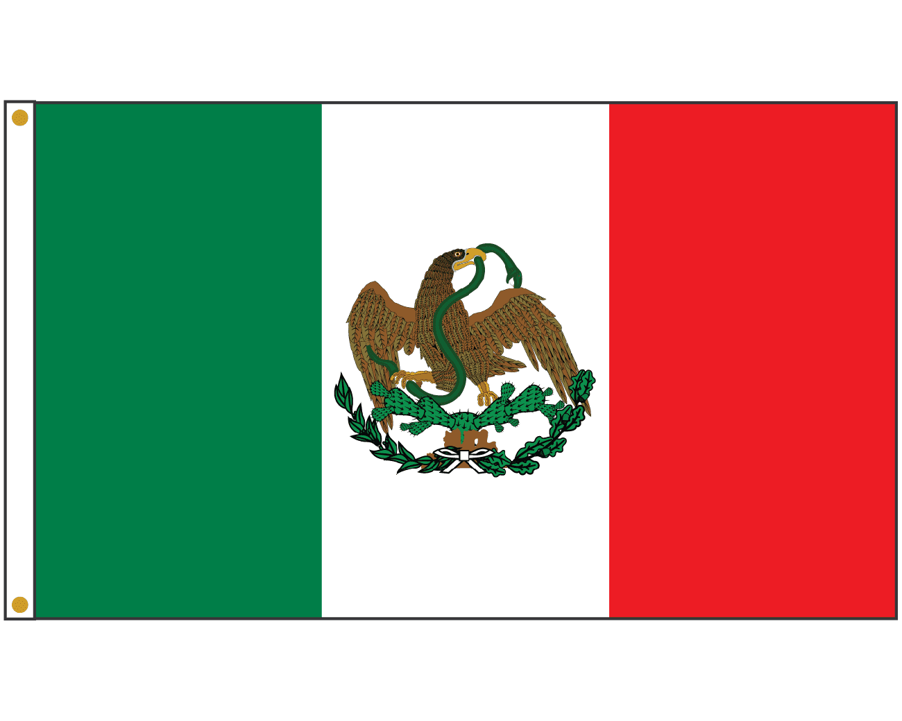 Picture Of Mexican Flag