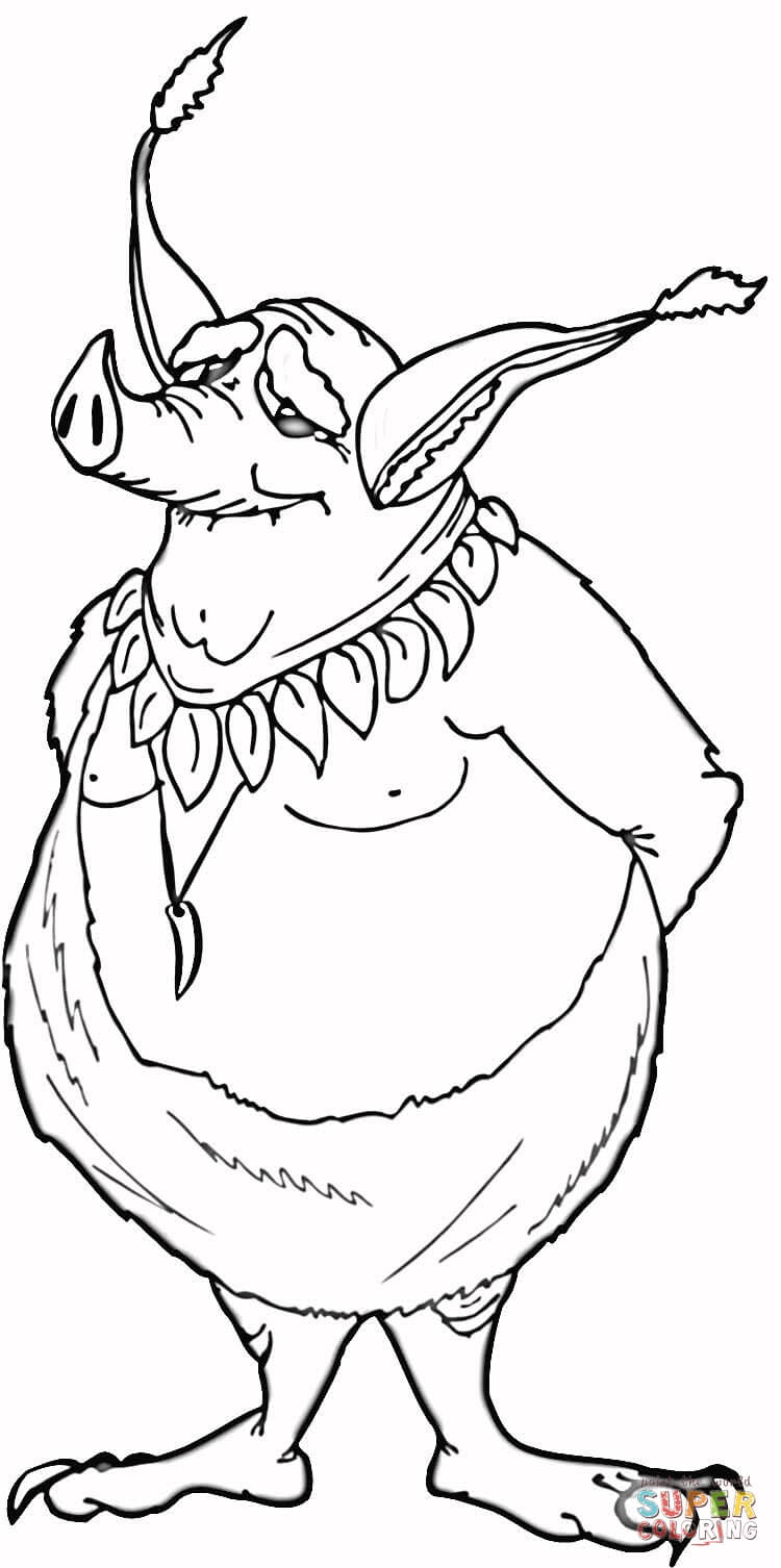 green goblin coloring pages