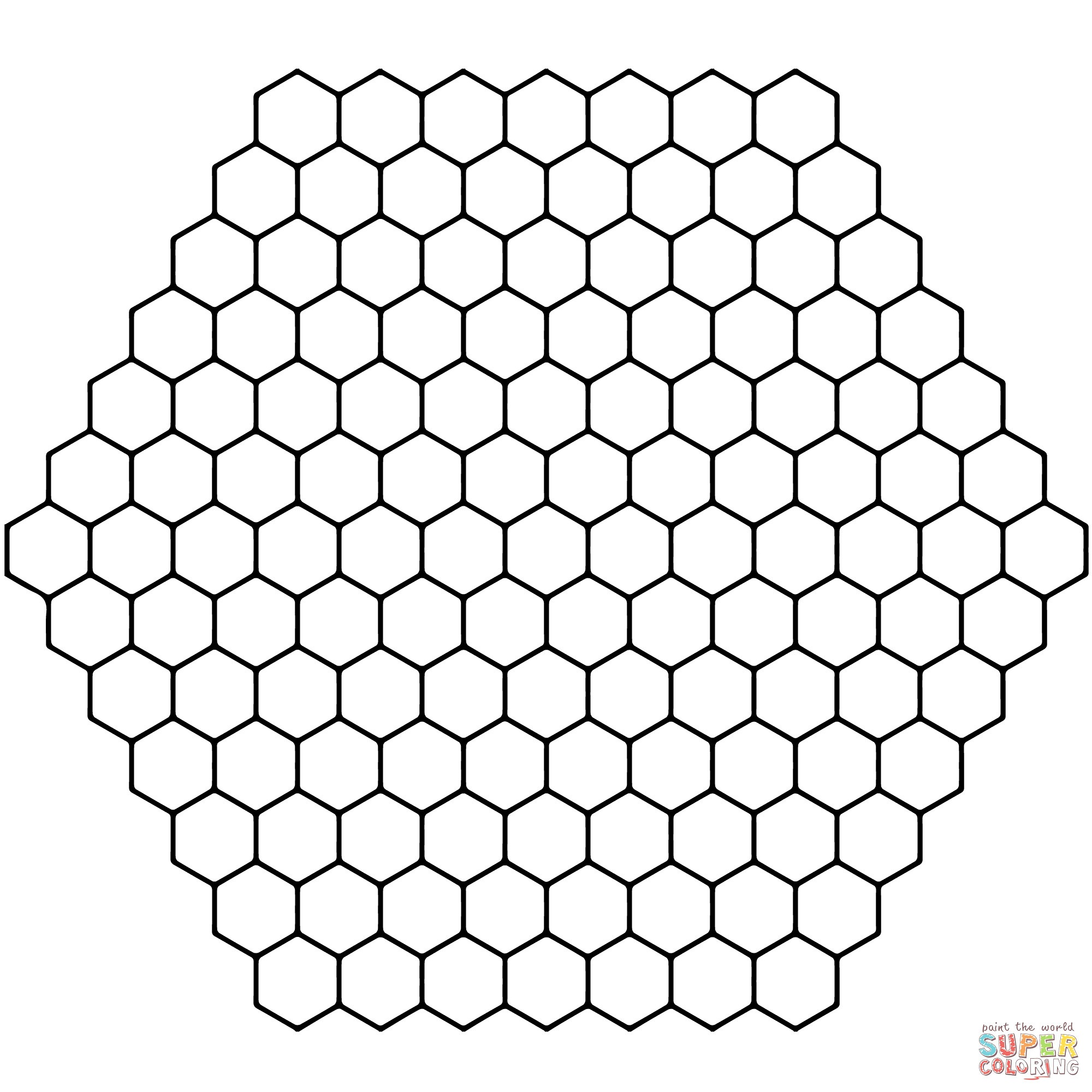 Bee Coloring Pages To Download And Print 15 Beehive Page