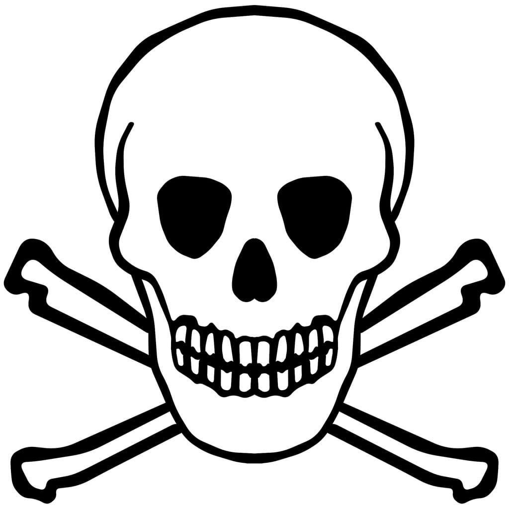 Skull And Bones Coloring Pages Neo Coloring