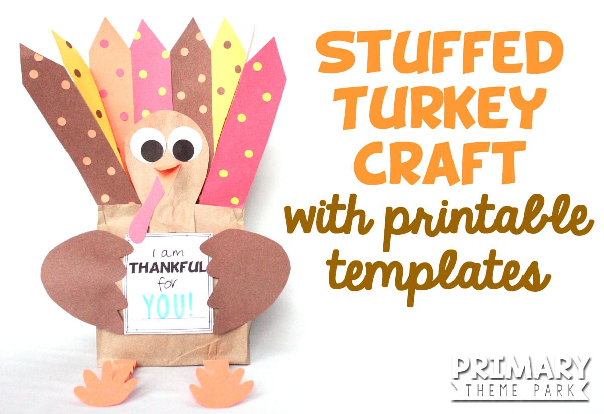 Turkey Head Template For Craft