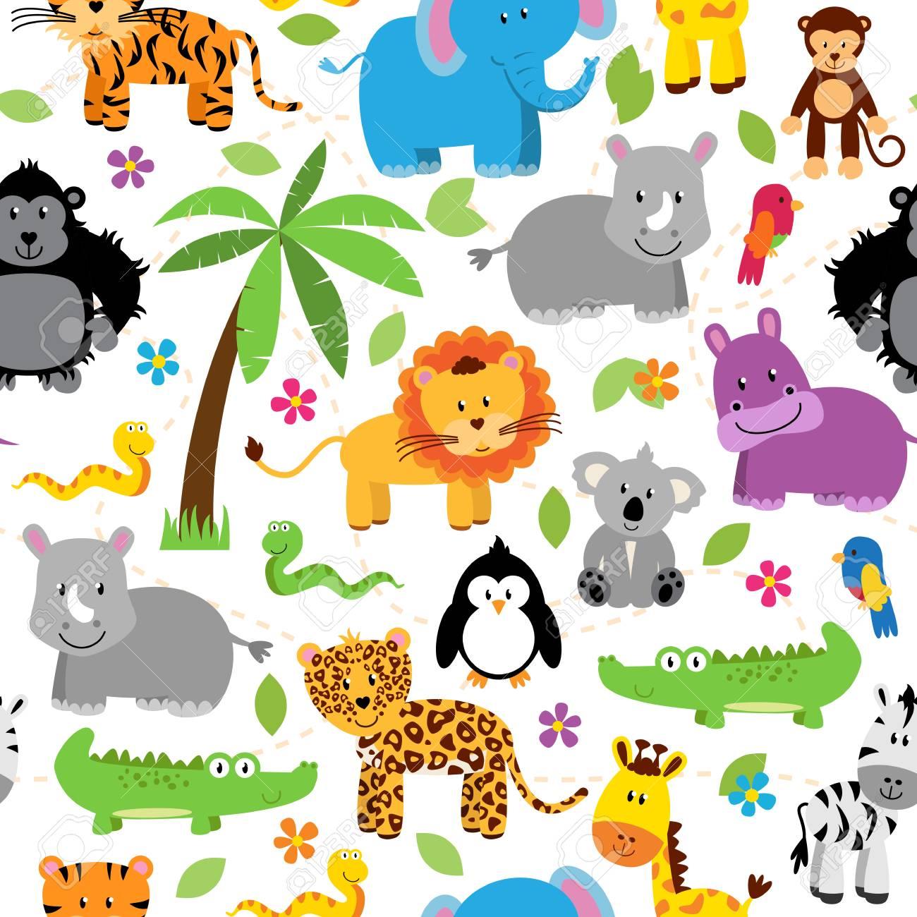 Free Zoo Animal Patterns