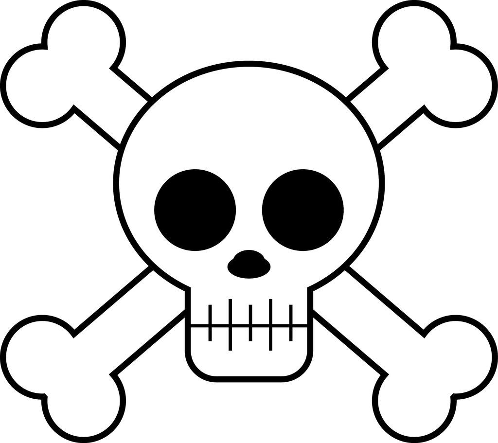 Cute Cartoon Skulls Neo Coloring