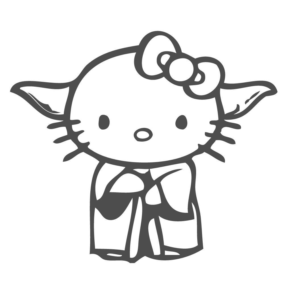 Hello Kitty Silhouette