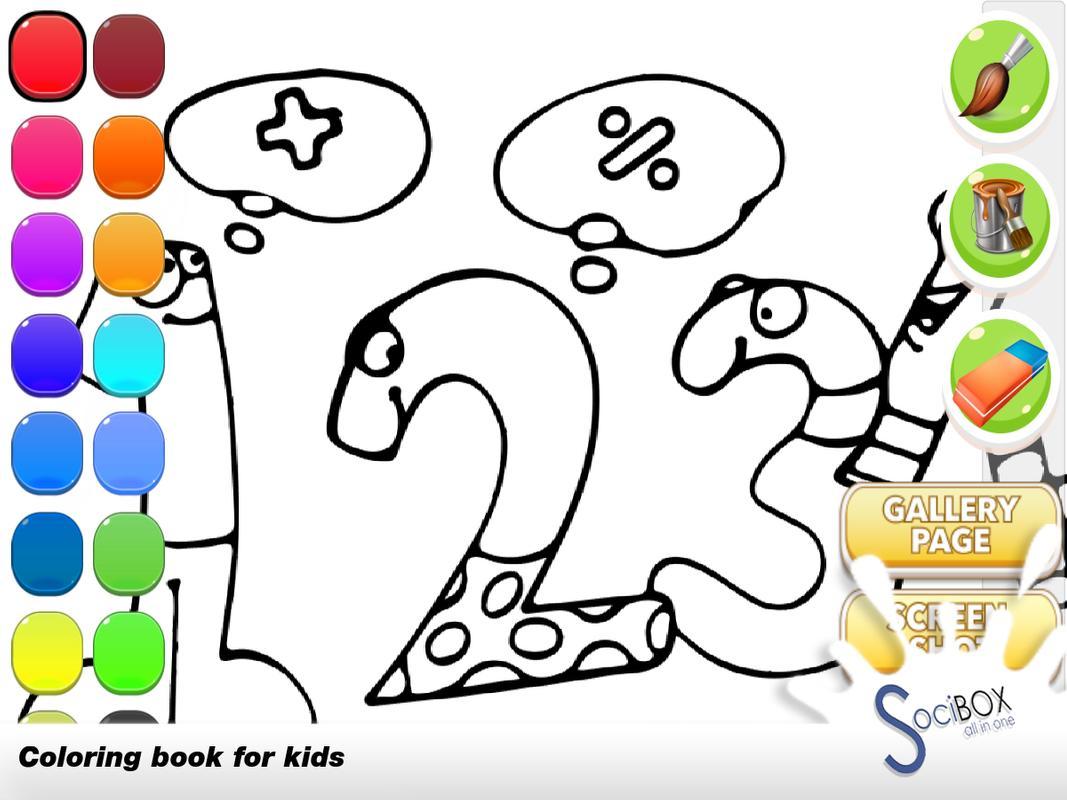 Math Coloring Book