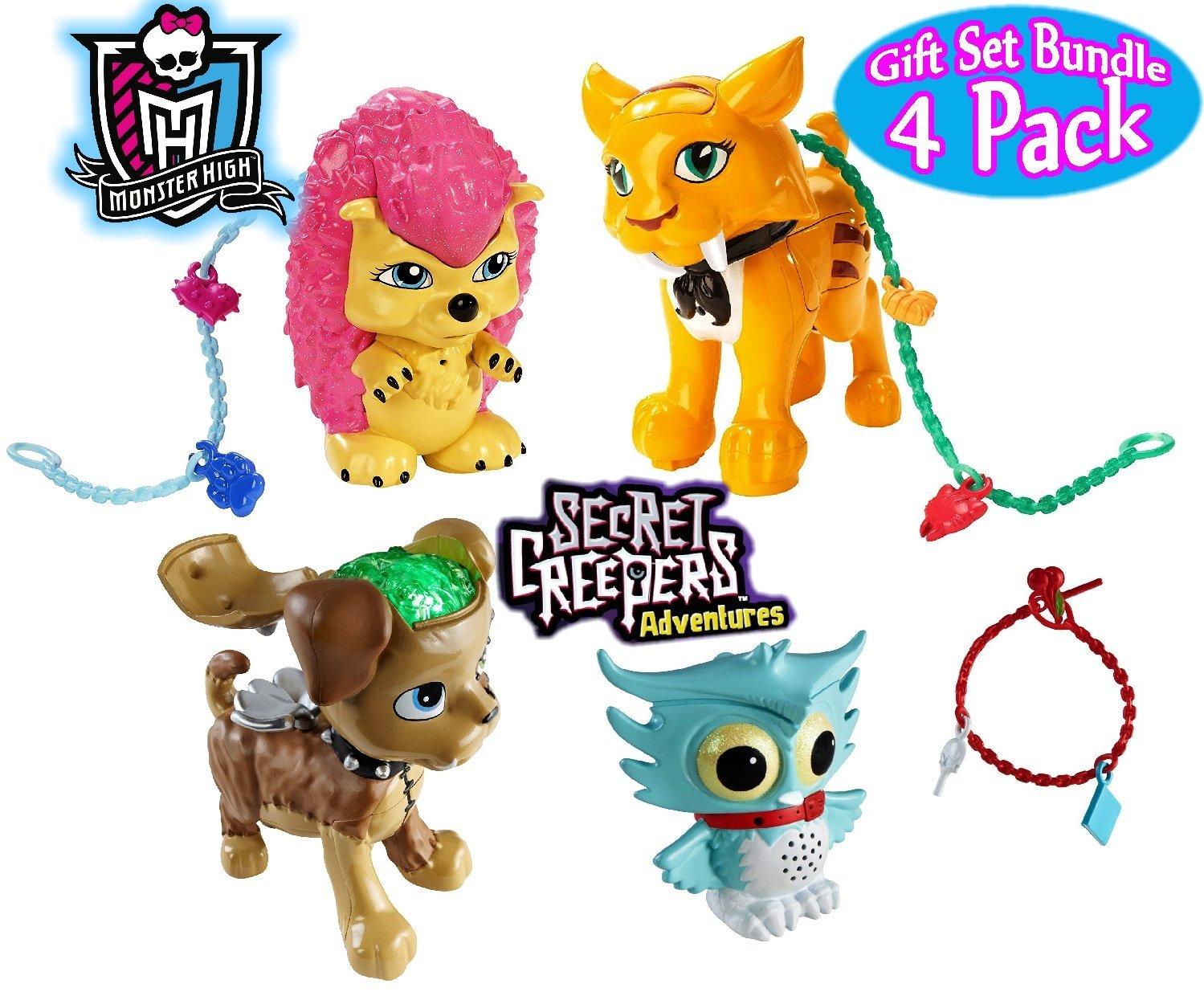 Buy Monster High Secret Creepers Pets Sweet Fang Cushion