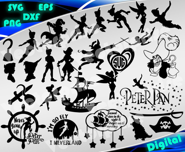 Peter Pan Svg Disney Svg Never Grow Up Svg I M So Fly I