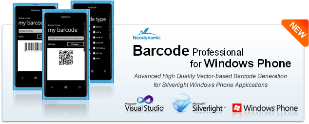 Barcode Professional for Windows Phone