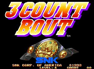 3 Count Bout / Fire Suplex