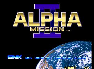 Alpha Mission II / ASO II : Last Guardian