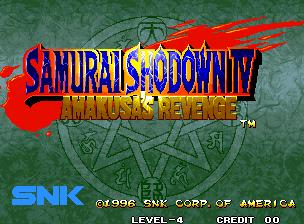 Samurai Shodown 4: Amakusa's Revenge / Samurai Spirits: Amakusa Kourin