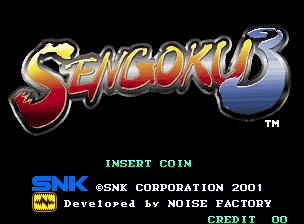 Sengoku 3 / Sengoku Legends 2001