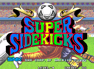 Super Sidekicks / Tokuten Ou