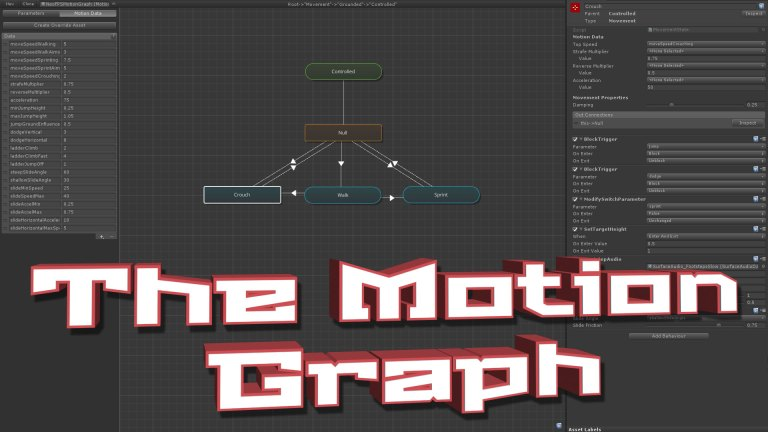 NeoFPS - The Unity FPS controller asset - Motion Graph Tutorial