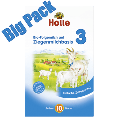 Holle Goat Formula Stage 3 Bulk packs for great savings