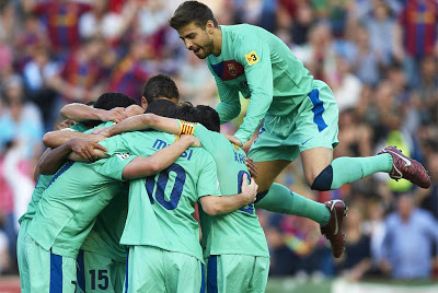 Barcelona campeon liga española temporada 2010-2011