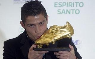 Cristiano Ronaldo recibe su Bota de Oro