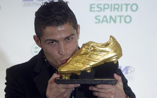 Cristiano Ronaldo Bota de Oro 2011