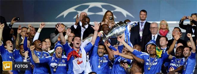 Chelsea Campeón de la Champions 2012