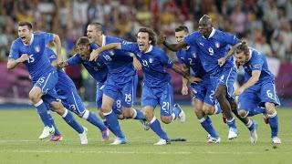 Italia es semifinalista de la Euro 2012