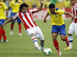 paraguay ecuador eliminatorias