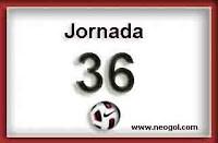 jornada 36 liga española
