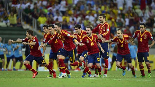 españa italia semifinal confecup