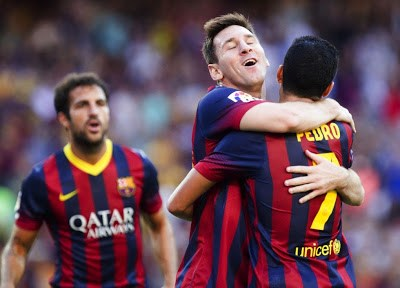 Barcelona vs. Levante 2013