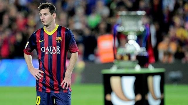 Messi y la supercopa 2013